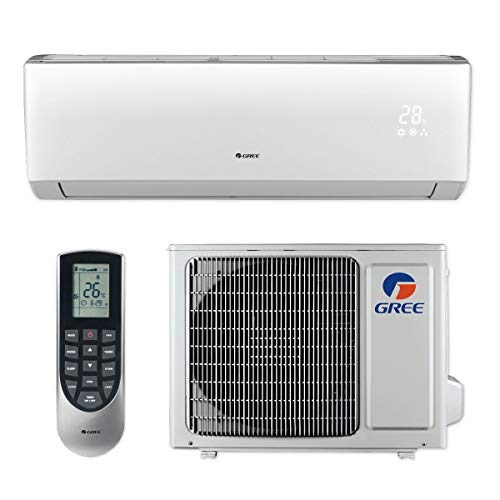 GREE 12,000 BTU 16 SEER LIVO+ Wall Mount Ductless Mini Split Air Conditioner Heat Pump 115V