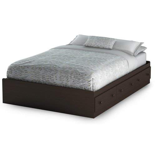 Full Size Platform Bed With Drawers Amazoncom