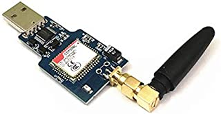 SongHe SIM800C USB GSM GPRS Wireless Module Quad-Band, 850/900/1800/1900MHz, CH340T USB Chip Support 2G 3G 4G SIM Card USB...