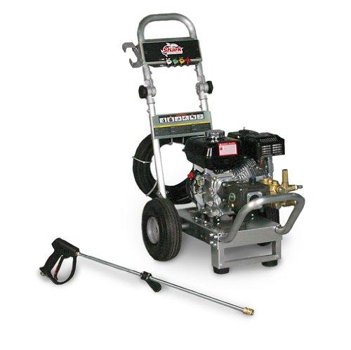 Big Sale Shark DGA-383537 3.8-GPM Aluminum Series DCold Water Washer, 3500 PSI, Honda GX390 engine