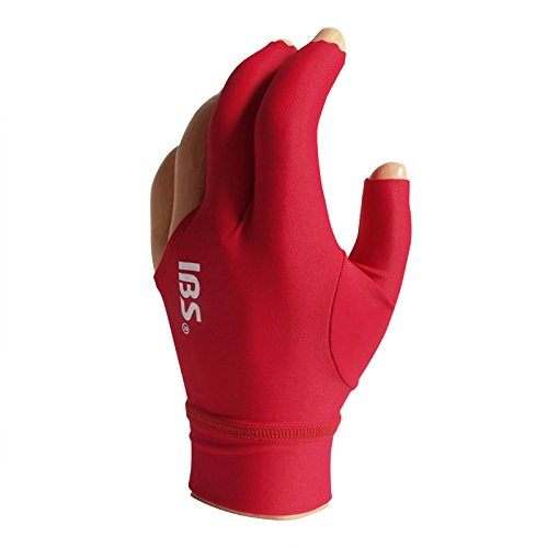 Manuel Gil Handschuh Billard IBS Glove Pro Red