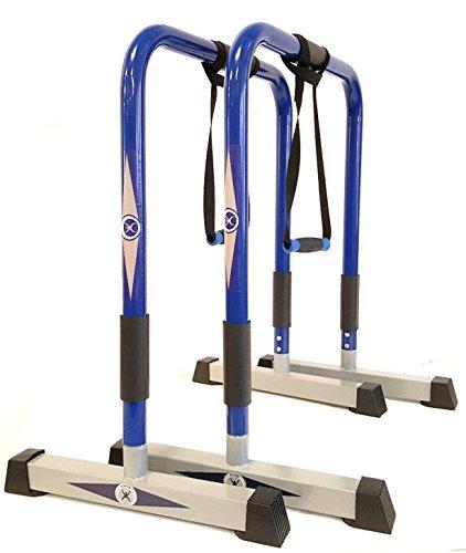CoreX Functional Fitness Parallette Dip Station, Dip Bars.