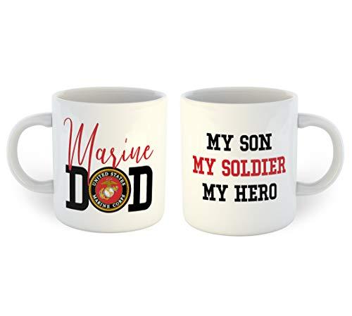 Marine Dad Coffee Mug