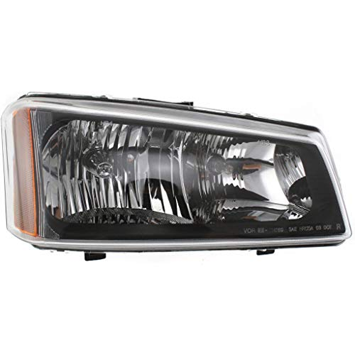 For Chevy Silverado 1500/2500 HD Headlight 2003 04 05 2006 Passenger Side Halogen | Smooth Reflector | GM2503224 | 10396912