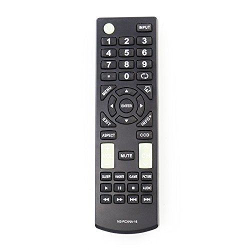 NS-RC4NA-16 NSRC4NA16 Replacement Remote Control fit for Insignia HDTV LED...