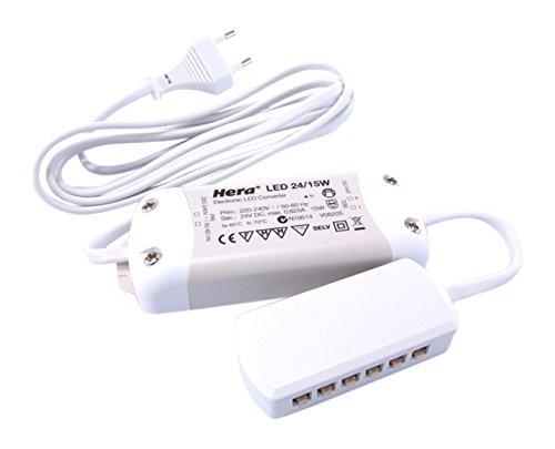 Hera Netzgerät, Schaltnetzteil EQ-LED, 220-240 V AC/50-60Hz, 24 V DC, 15,00 W 686852