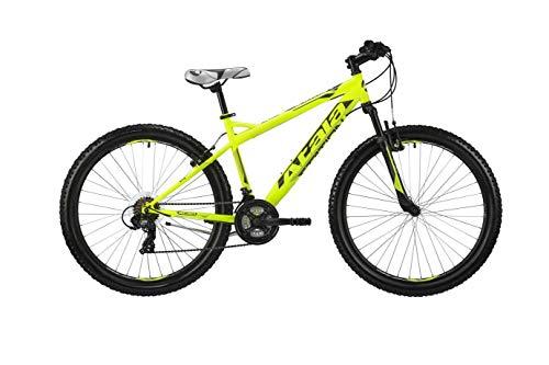 Atala Mountain Bike Station 2019 27,5 pulgadas, 21 velocidades, talla XS, 135 cm a 150 cm, color amarillo neón