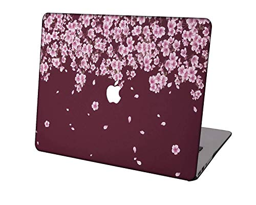 Laptop Case for MacBook Air 13 inch Model A1932/A2179,Neo-wows Plastic Ultra Slim Light Hard Shell Cover Compatible MacBook Air 13 inch 2018-2020 Release,Flowers 1_3