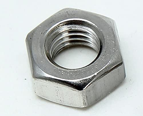 12 Stück M8 Sechskantmuttern Edelstahl A2 DIN 934, Muttern V2A (Edelstahl V2A, M8)