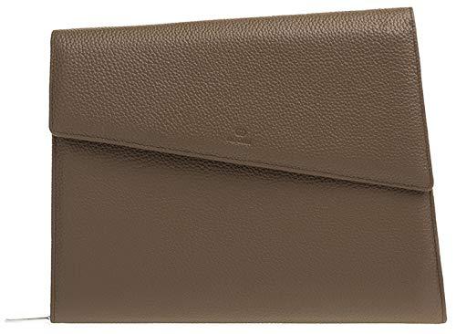 Noomi Porte-iPad en Cuir véritable, 33 cm, Stone (Marron) - 1081PPSTO