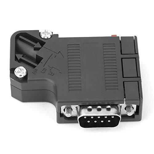 Adaptador Profibus DP 6ES7972-0BA41-0XA0 Adaptador de conector Profibus DP de 35 °, Conector Profibus DP Adaptador Profibus DP