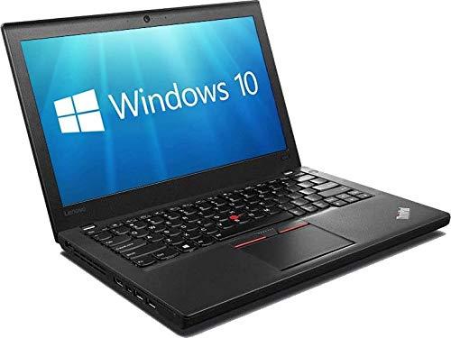 Windows 10 Lenovo X260 i5-6300U Laptop PC - 8GB DDR3 - 256GB SSD -HDMI - (Renewed)