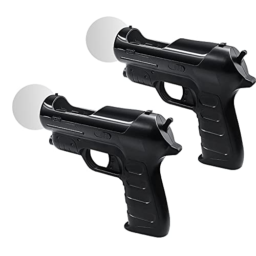 Tirador para PS4 VR Controller, Kiyicjk 2 paquetes Playstation 4 / VR Move Controller Adecuado para juegos de disparos PS3 / PS4 / PS VR