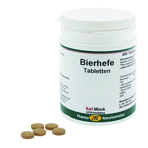 Biergist tabletten, 400 tabletten