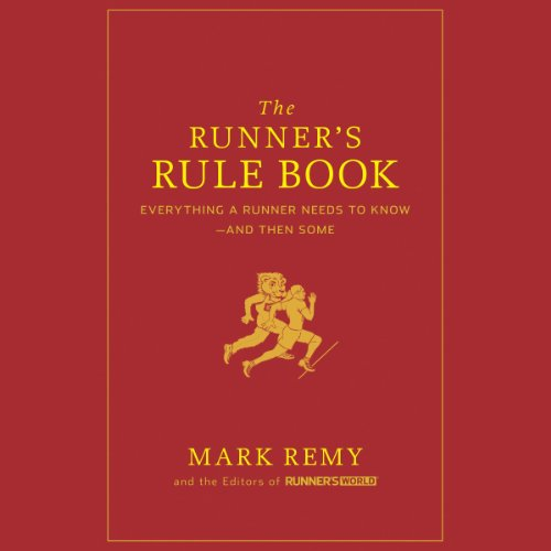 The Runner's Rule Book audiobook cover art