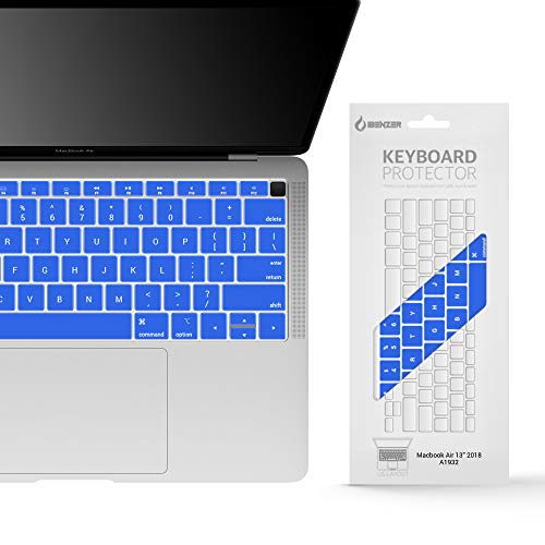 IBENZER Macaron Series Keyboard Cover for MacBook Pro 13\' 15\' 17\' (with or w/Out Retina Display) MacBook Air 13\' and iMac Wireless Keyboard, Royal Blue, MKC07RBL
