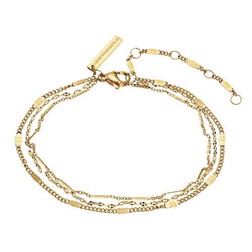Liebeskind Berlin Armband aus Edelstahl in Gold LJ-0634-B-22