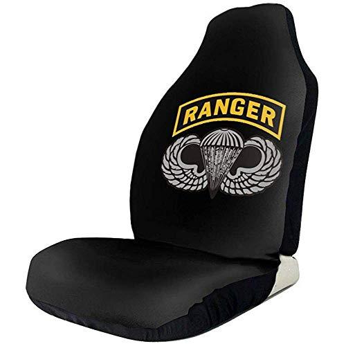 MJDIY voorstoelhoes, US Army Ranger Tab Premium, voor vrachtwagen SUV, 2 stuks