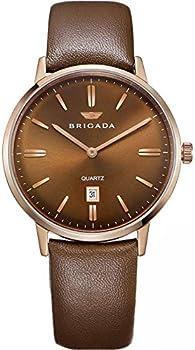 Brigada Swiss Brand Men's Dress Watch with Date Calendar