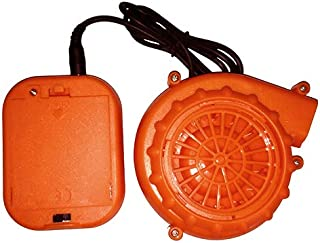 Blower Set for Inflatable Costumes (Batteries NOT Included) Orange