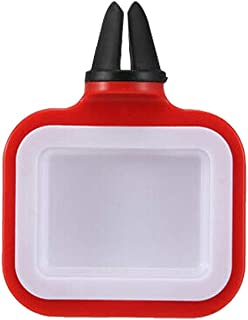 Sacow Car Sauce Holder, Saucem Dip Clip In-car Sauce Holder for Ketchup Dipping Sauces 2019 New (red)