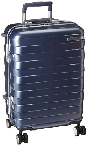 Samsonite Framelock Hardside Expandable with Spinner Wheels, Ice Blue, Carry-On 20-Inch