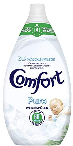 Comfort Weichspüler (für empfindliche Haut Pure dermatologisch getestet 60 WL) ( 2 x 900 ml)