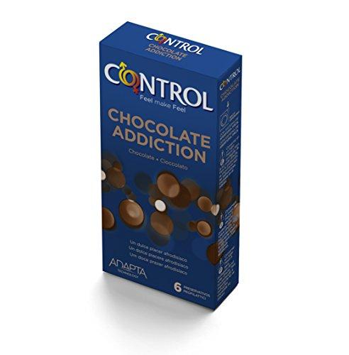 Adicción chocolate Preservativos Control de 6 unidades