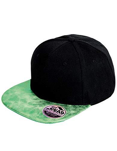 Result Casquette Bronx Glitter - Black/Green, One Size, Unisexe