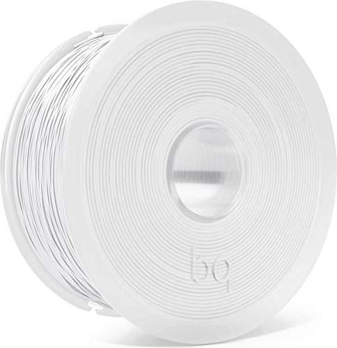 BQ F000173 - Bobina de filamento PET-G 1 kg, 1.75 mm, blanco