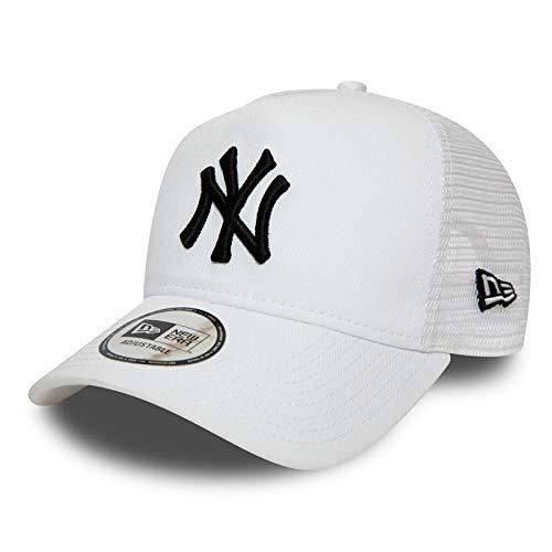 New Era - Gorra de Rejilla, diseño de Nueva York Yankees Los Angeles Dodgers, Unisex, NY White #SO20, OSFA (One Size Fits All)