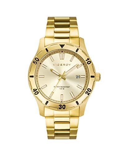 VICEROY - Reloj Acero IP Dorado Brazalete Sr Va - 401131-27
