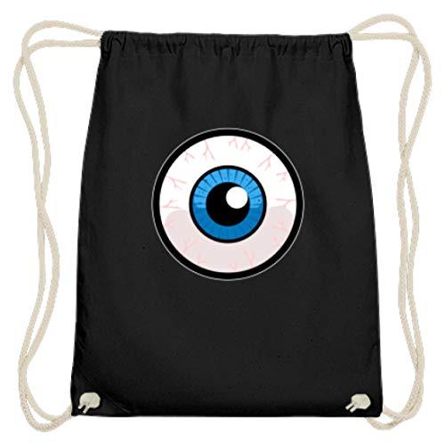 Bolsa de gimnasio de algodón con ojos de monstruo, para fiestas, mujeres,...