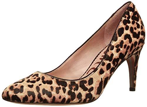Sam Edelman Elise Sand Jungle Leopard Brahma Hair 6.5