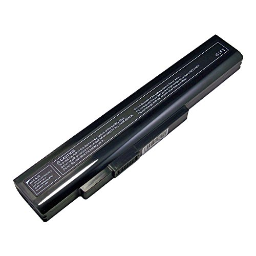 PowerWings 4400mAh 10,8V Ersetzen Akku für Medion Akoya P6631 P6634 P6635 P6637 P6638 P7621 P7816 P7817, Fujistu Lifebook N532