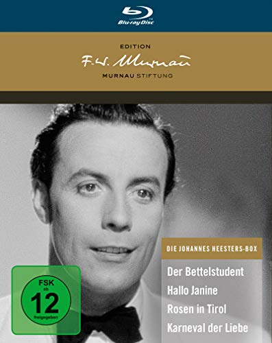 Die Johannes Heesters Box - Deluxe Edition [Blu-ray]