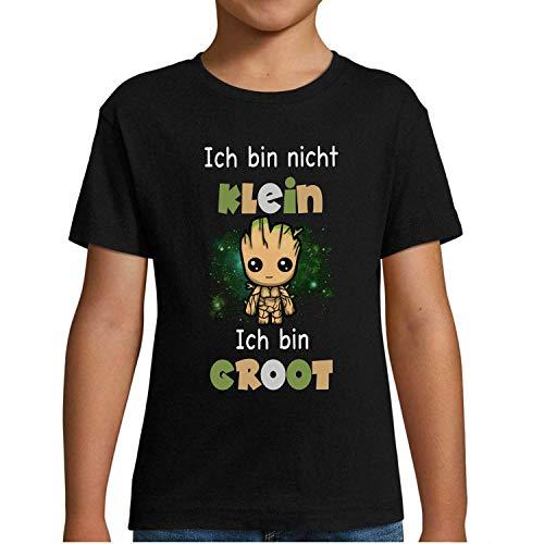 Ich Bin Groot ∣ Ich Bin Nicht klein ∣ Jungen T-Shirt Unisex 6 Jahre