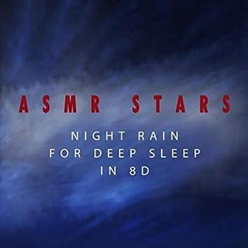 Night Rain For Deep Sleep in 8D