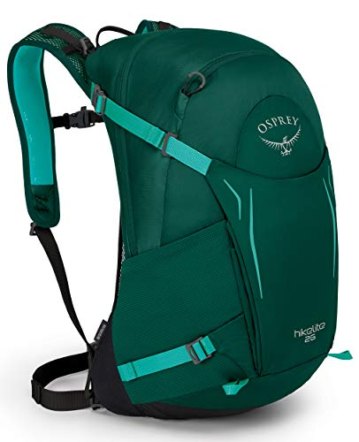 Osprey Hikelite 26 Unisex Hiking Pack - Aloe Green...