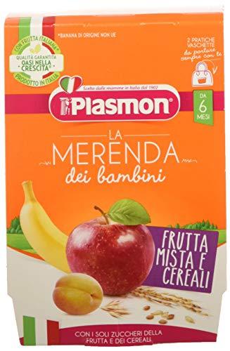 Plasmon Merenda Frutta Mista Cereali, Pacco da 12 x 240 gr