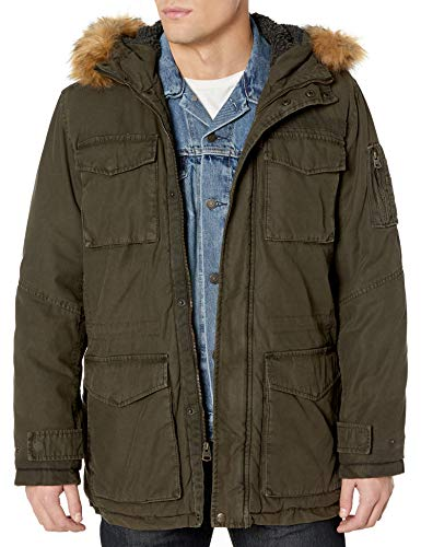 Levi's Mens Arctic Cloth Sherpa Lined Field Parka Jacket