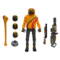 This 6-inch action figure features 36+ points of articulation and highly detailed decoration inspired by one of the most popular outfits from Epic Games' Fortnite. Recreate your favorite emotes with the expressive, interchangeable faces, and premium ...