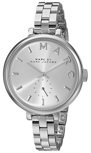 Marc by Marc Jacobs Damen Analog Quarz Uhr mit Edelstahl Armband MBM3362