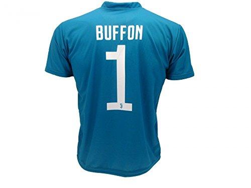 Maglia Buffon 2018 Juventus Blu Ufficiale stagione 2017/2018 Replica Autorizzata Gianluigi Buffon Gigio Portiere Juve (2 anni)