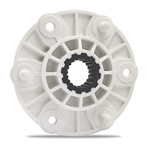 Lavadora Rotor Hub Asamblea MBF618448 (PBT-GF30) Compatible para lavadora LG, reemplazar la pieza PBT-GF30, 4413ER1001C, 4413EA1002B 4413ER1003B, 4413ER1002F