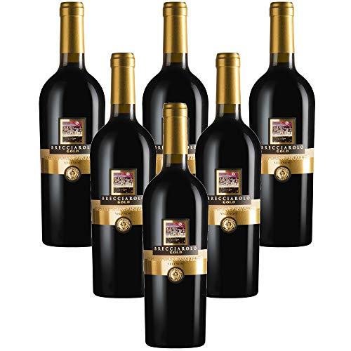 BRECCIAROLO GOLD vino rosso Piceno DOC Superiore VELENOSI (6 bottiglie 75 cl.)