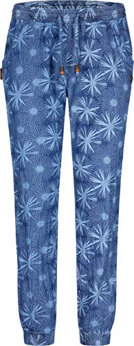 alife and Kickin Alicia Pant M, Dark Denim AOP