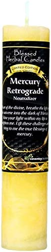 Blessed Herbal Limited Luxury Edition Mercury specialty shop Candle Retrograde