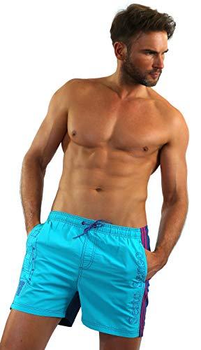 Sesto Senso Costume da Bagno Uomo Swim Shorts Pantaloncini Spiaggia Tronchi Boxer da Nuoto L Lignano