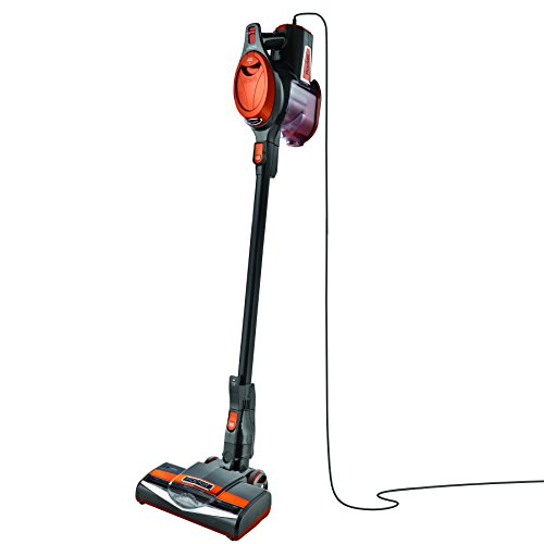 Product Image of the Shark Rocket Ultra-Light Corded Bagless Vacuum for Carpet and Hard Floor Cleaning with Swivel Steering (HV301), Gray/Orange